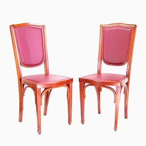 324 Viennese Secession Chairs from J&J Kohn, 1900s, Set of 2