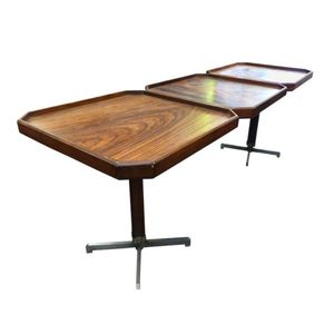 Italian Rosewood Cocktail Table, 1960s