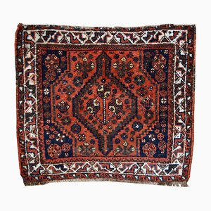 Vintage Middle Eastern Bag Face Rug