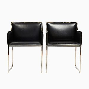 Italian Vintage Chairs, 1970s, Set of 2