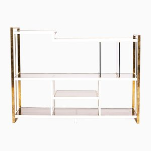 Italian Brass Console Table by Arcangeli & Serantoni for Idea Knox, 1970s