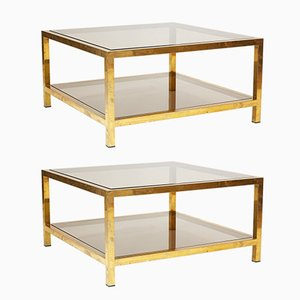Coffee Tables by Romeo Rega, 1970s, Set of 2