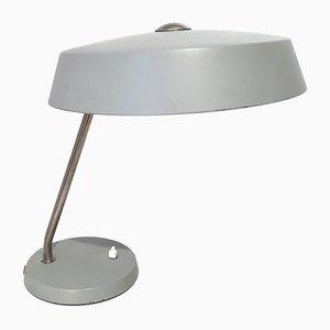 Lampe de Bureau Bauhaus Grise, 1960s