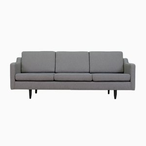 Vintage Danish Grey Sofa