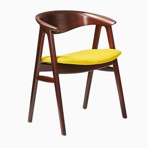 Chaise de Bureau par Erik Kirkegaard pour Hong Stolefabrik, Danemark, 1956