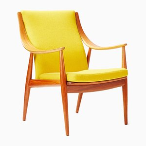 FD-146 Armchair by Peter Hvidt for France & Daverkosen, 1950s