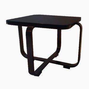 Table Basse Art Déco Rectangulaire en Bois Courbé par Jindřich Halabala