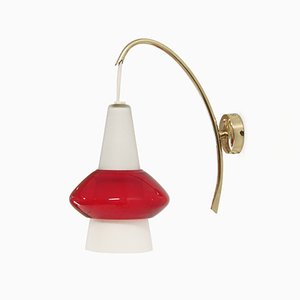 Mid-Century Wall Light by T. Roste, 1960s