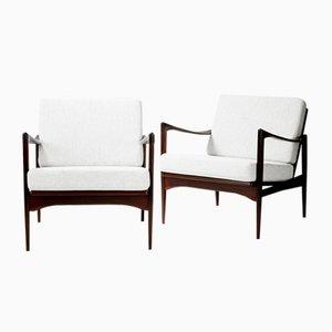 Kandidat Stühle von Ib Kofod-Larsen für OPE, 1960er, 2er Set