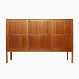 Danish Teak Highboard by Kurt Østervig for Randers Møbelfabrik A/S, 1960s