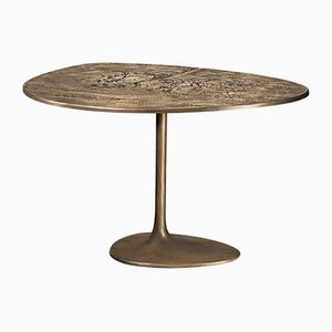Albeo III Brass Side Table by Irene Maria Ganser