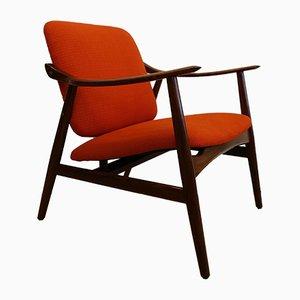 Armlehnstuhl von José Cruz de Carvalho für Altamira, 1960er