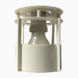 White Magasin Built on Ceiling Light by Vilhlem Wohlert for Louis Poulsen, 1990s