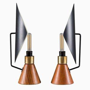 Lámparas de mesa de Asea, años 50. Juego de 2