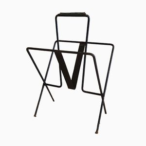 Magazine Rack by Jacques Adnet, 1930