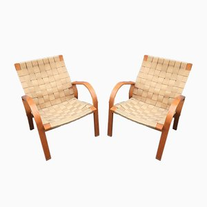 Armchairs by Bruno Mathsson for Dux, 1940s, Set of 2