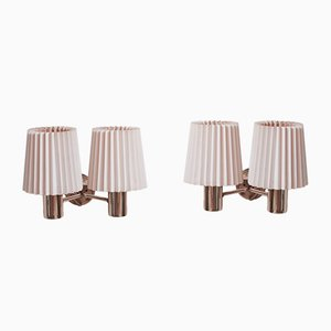 149/2 PL Sonett Wall Lamps by Hans Agne Jakobsson, Set of 2