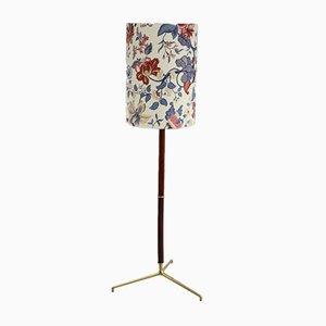 Lámpara de pie italiana vintage floral