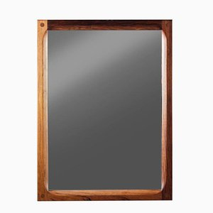 Vintage Danish Mirror in Rosewood by Aksel Kjersgaard
