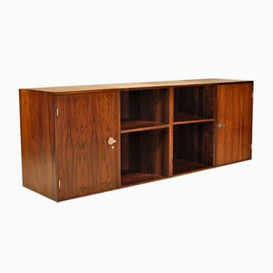 Rosewood Diplomat Storage Cabinets and Book Cases by Finn Juhl for France & Søn, 1960s, Set of 4