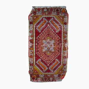 Antique Handmade Turkish Yastik Rug