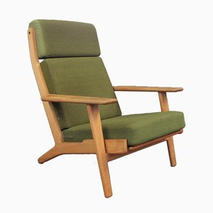 Model GE290A High Back Armchair by Hans J. Wegner for Getama, 1960s