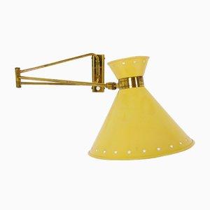 Lámpara Diabolo de René Mathieu para Lunel, años 50