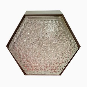 P-1092 Hexagonal Flush Mount Lamp from Raak Amsterdam, 1970s