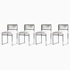 Italienische Stühle, 1970er, 4er Set