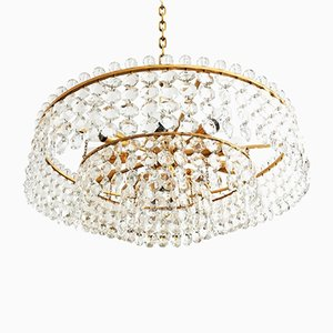 Cut Crystal Chandelier from Bakalowits, 1960s