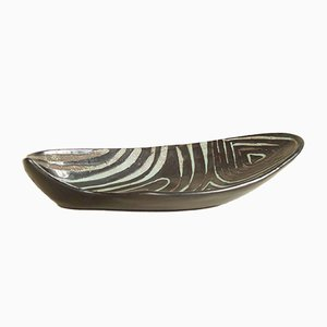 Large C50 Bowl by Roger Capron, 1950s