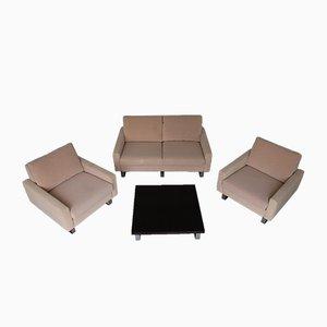 Conseta Sessel, Sofa & Tisch von F. W. Möller für Cor, 1970