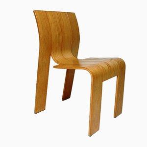 Chaises Strip Vintage par Gijs Bakker pour Castelijn, Set de 4