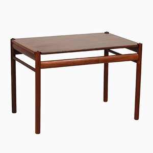 Vintage Danish Rosewood Sidetable by Ole Wanscher for Poul Jeppesen