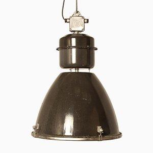 Industrielle Vintage Type II Linz G Glas Hängelampe