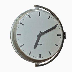 Grande Horloge Murale d'Usine de Lambert, 1960s