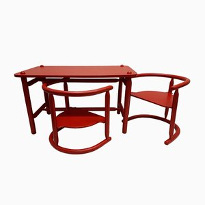 Anna Children's Table and 2 Chairs by Karin Mobring for Ikea, 1963