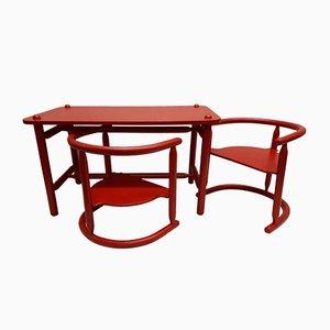 table pour enfants anna et 2 chaises par karin mobring pour ikea 1963 - Table De Salle A Manger Ikea1962
