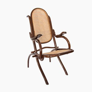 Folding Lounge Chair from Thonet, 1910s