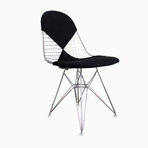 Chaise Wire DKR-2 avec Tapisserie Bikini de Vitra Design Ray and Charles Eames