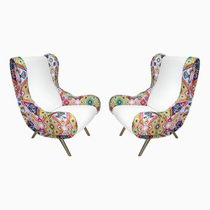 Senior Armchairs by Marco Zanuso for Arflex, 1960, Set of 2
