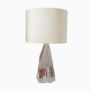 Lámpara de mesa francesa de Jean Daum, años 60