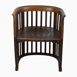 Barrel Chair by Josef Hoffmann, 1910s
