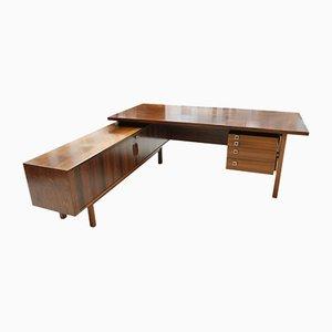 Palisander Schreibtisch von Arne Vodder, 1960