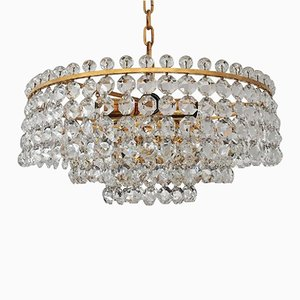 Cut Crystal Chandelier from Bakalowits, 1968