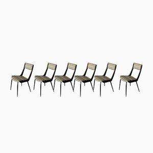 Italienische Mid-Century Stühle, 1959, 6er Set