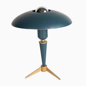 Lámpara de mesa trípode Mid-Century de Louis Kalff para Philips