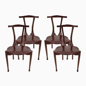 Gaulino Stühle von Oscar Tusquets, 1987, 4er Set