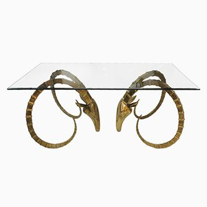 Sculptural Table by Alain Chervet, 1970s