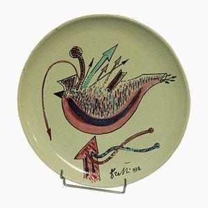Italian Plate by Rami, 1978